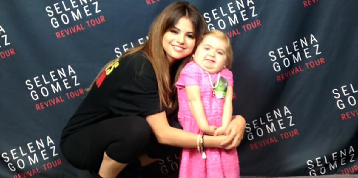 Selena Gomez y la pequeña Audrey
