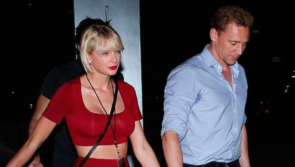 Taylor Swift y Tom Tiddleston