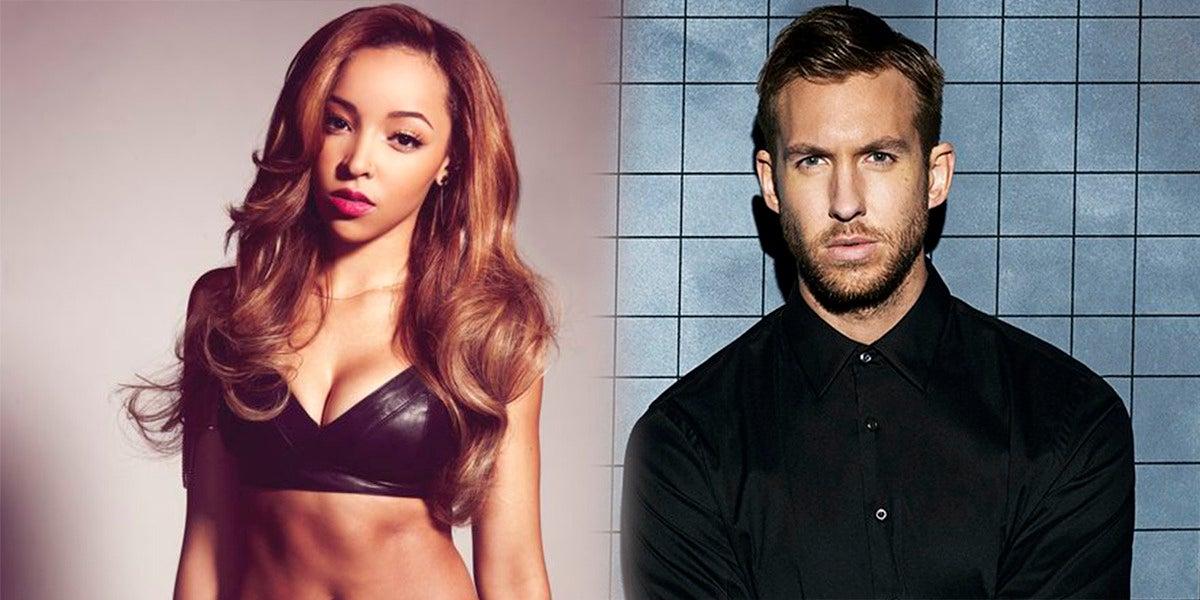 Tinashe estaría viéndose con Calvin Harris