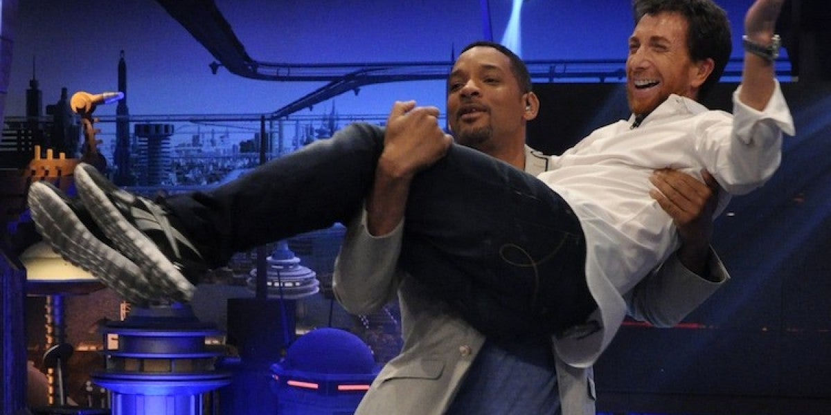 Will Smith y Pablo Motos en El Hormiguero