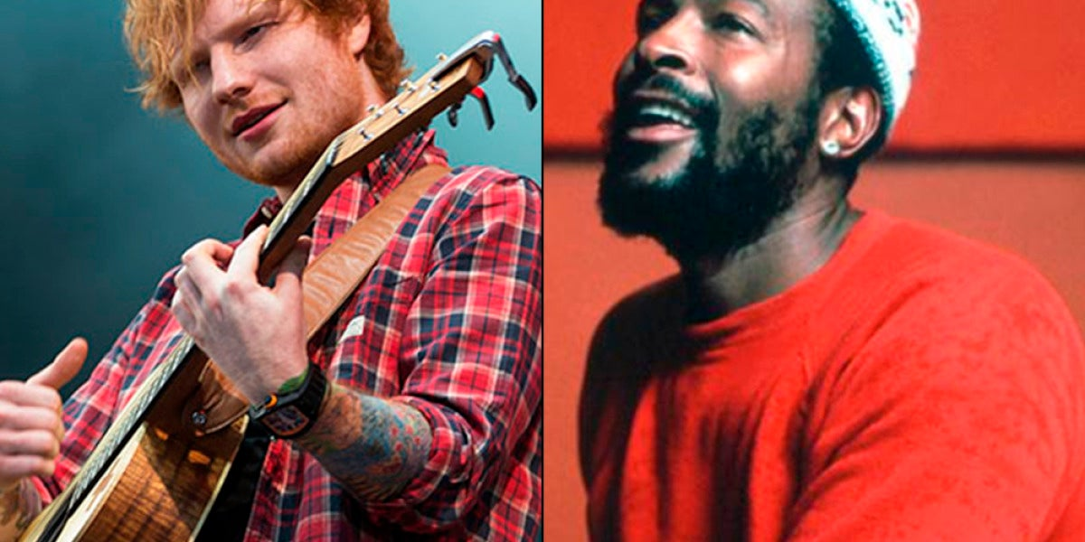 Ed Sheeran y Marvin Gaye