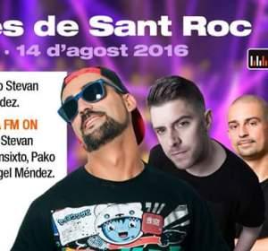Europa FM celebra las fiestas de Sant Roc en Porreres (Mallorca)