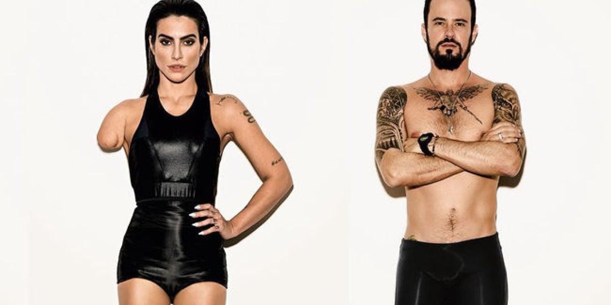 Cleo Pires y Paulo Vilhena, los modelos protagonistas de el reportaje de Vogue Brasil