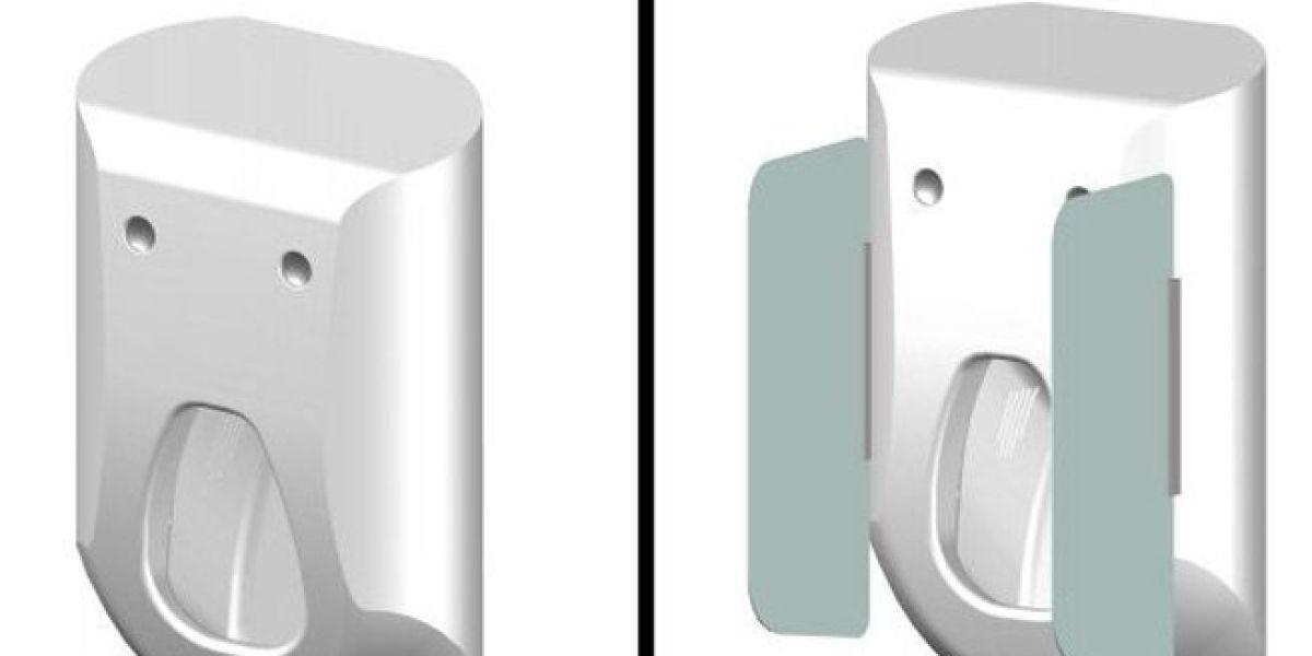 Urinario que limpia y seca el pene de los hombres después de utilizarlo