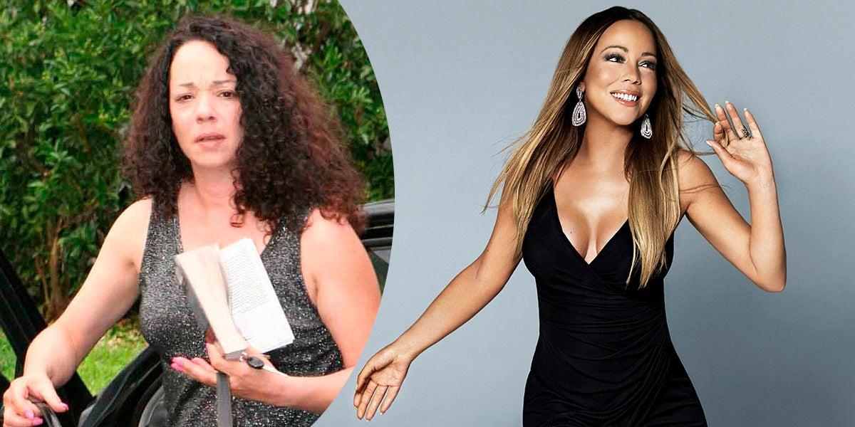 Alison, la hermana de Mariah Carey