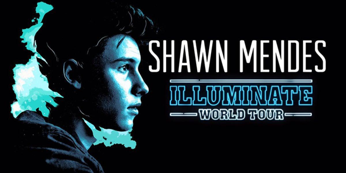 Cartel oficial de la gira de Shawn Mendes