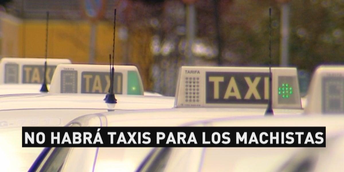 Taxis en fila
