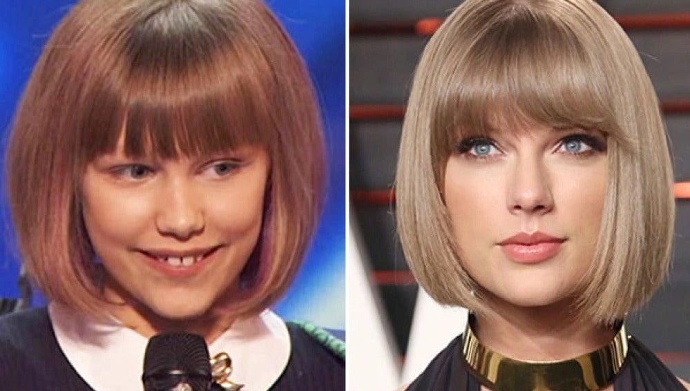Taylor Swift sorprende a Grace Vanderwaal