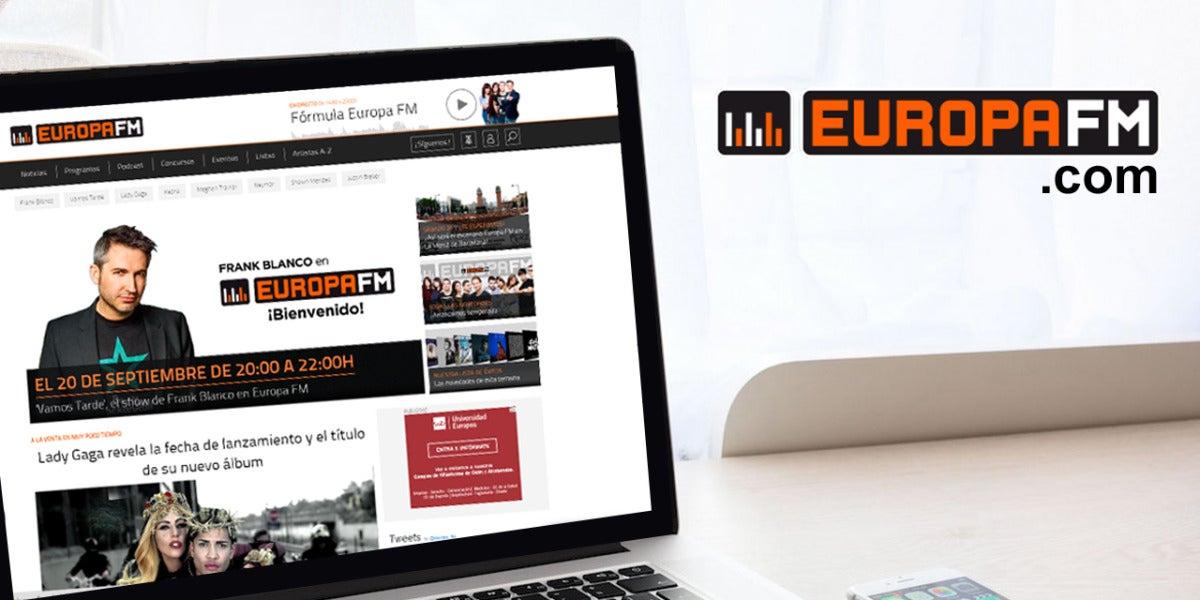 Web europafm.com