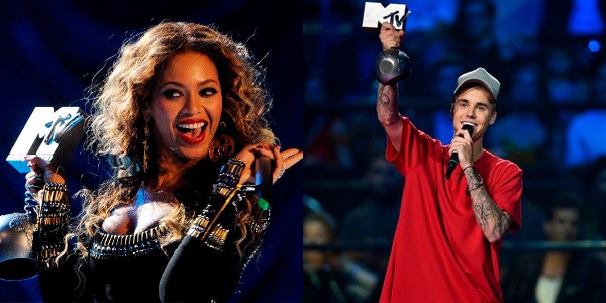 Beyoncé y Justin Bieber, favoritos en los MTV EMA 2016