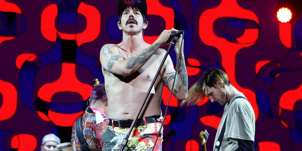 Red Hot Chilli Peppers en concierto
