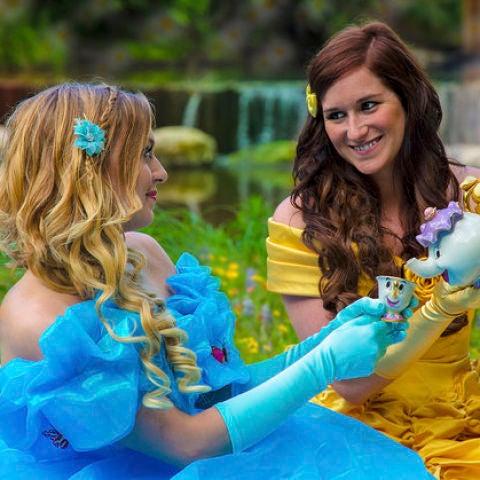 La boda de las princesas Disney