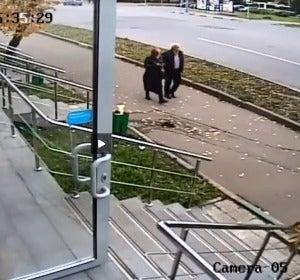 Accidente en Moscú
