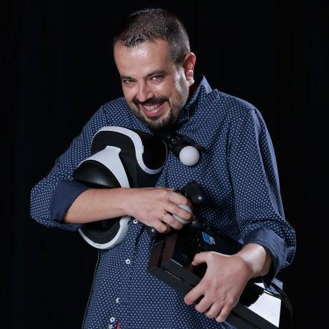 Kiko Béjar, presentador de Europlay