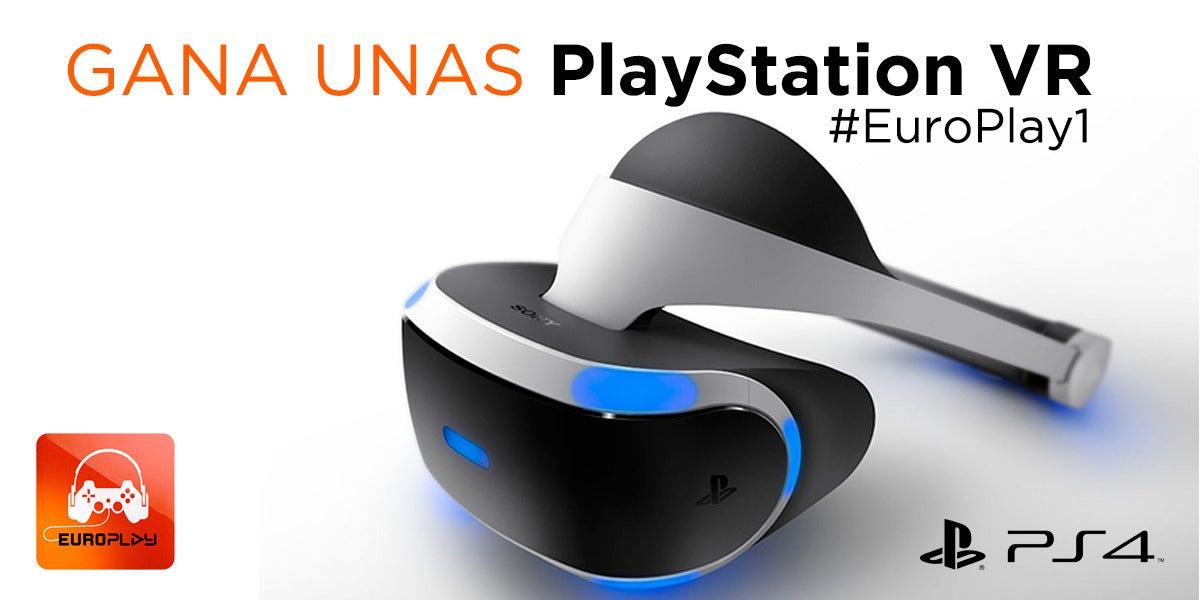 Concurso de EuroPlay: gana unas PlayStation VR