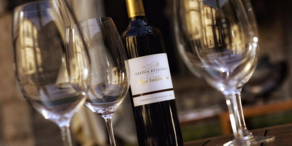 El vino blanco de Abadía Retuerta.