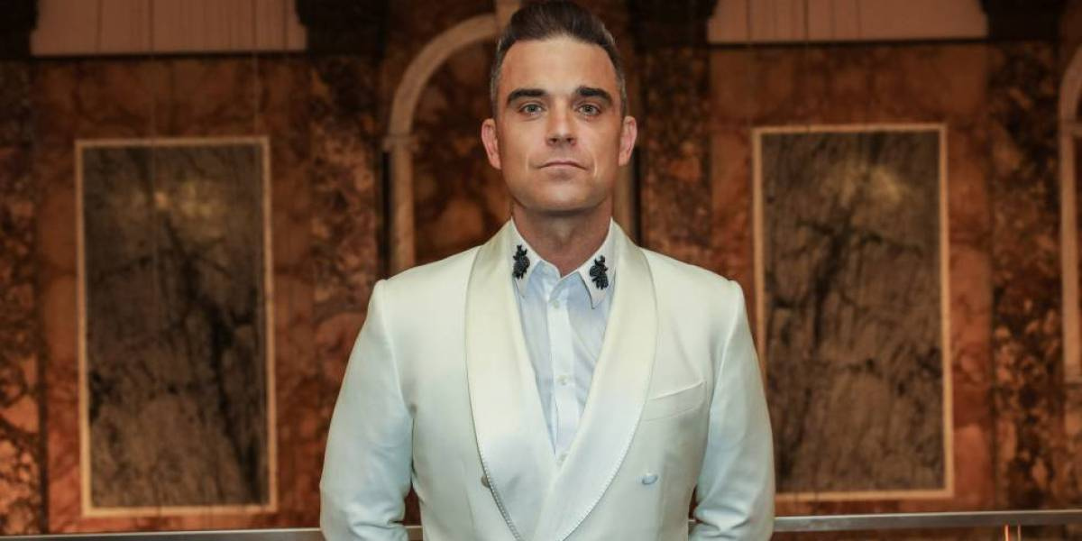 Robbie Williams en los Attitude Awards en Londres