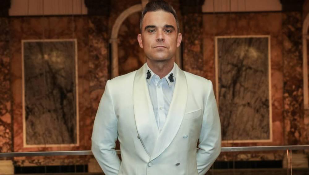 Robbie Williams en los Attitude Awards en Londres