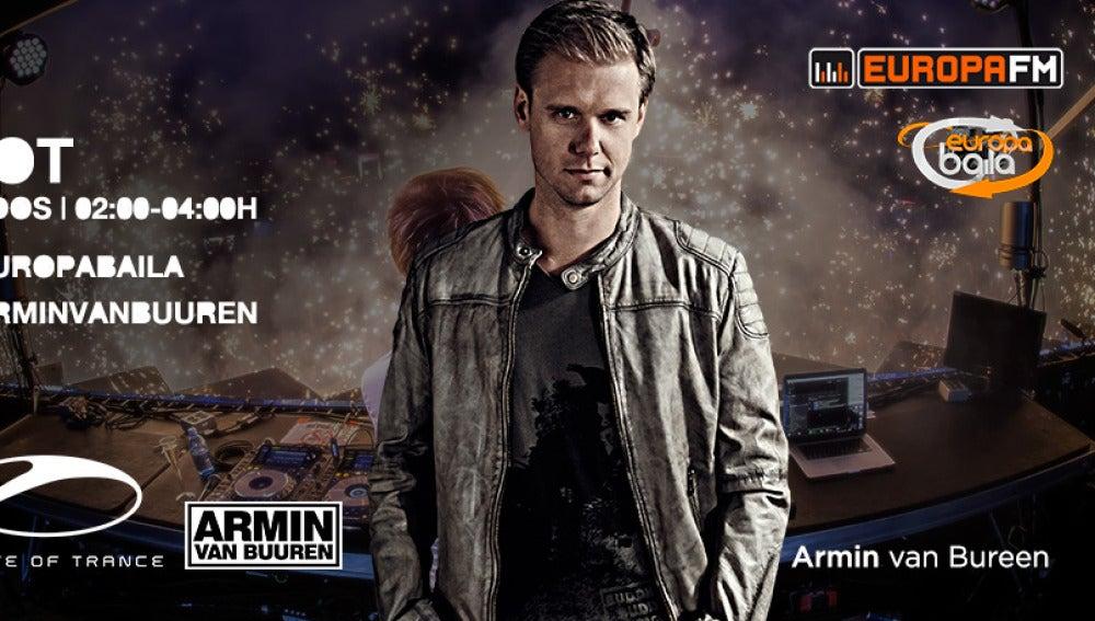 Armin van Buuren estará en Europa Baila con Brian Cross