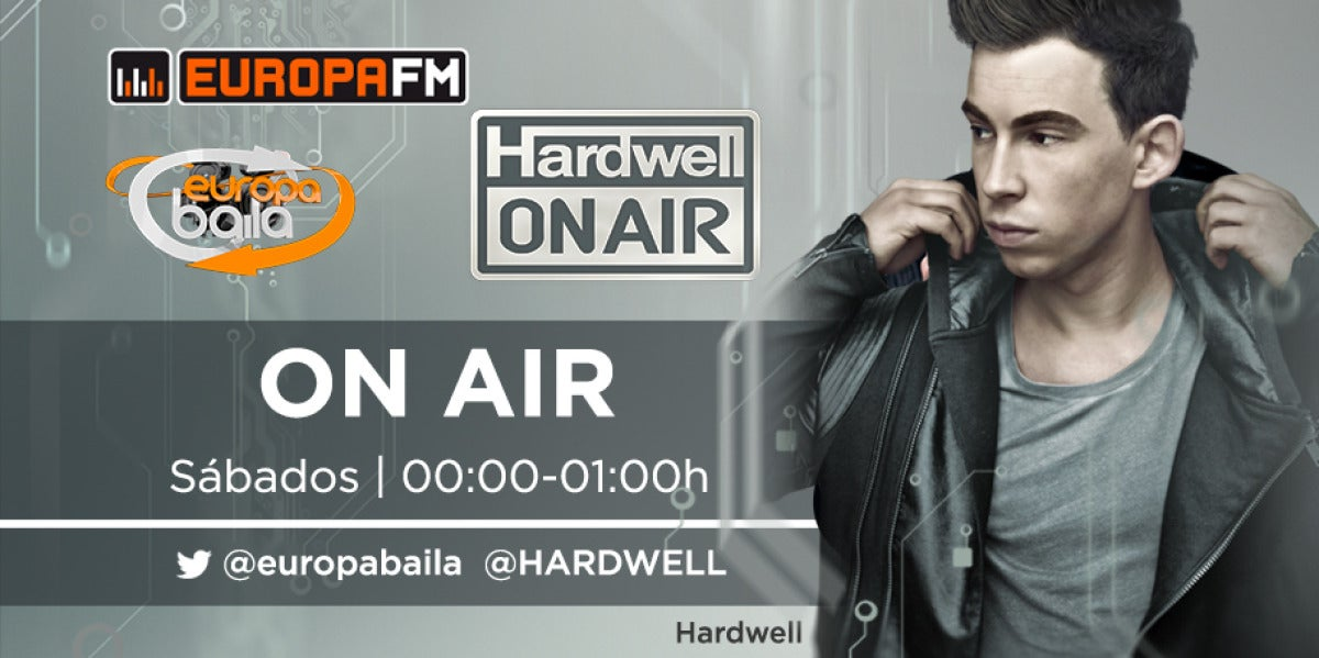Hardwell ON AIR en Europa Baila de Europa FM