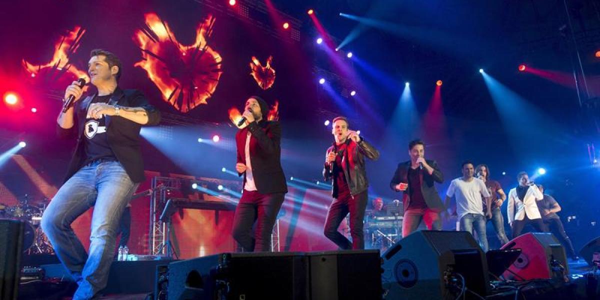 Manu Tenorio, Álex Casademunt, David Bustamante, David Bisbal y el resto en el concierto de OT