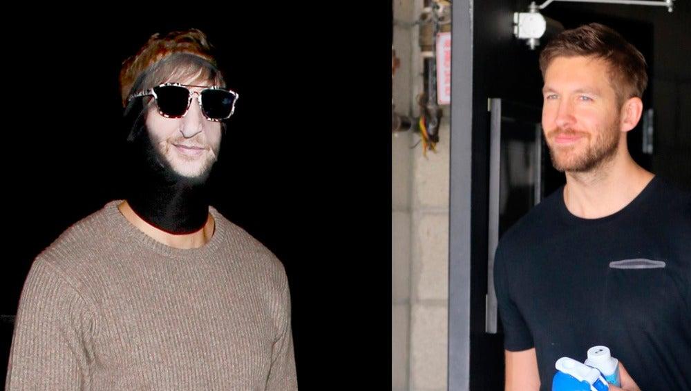 Calvin Harris se disfraza de David Guetta
