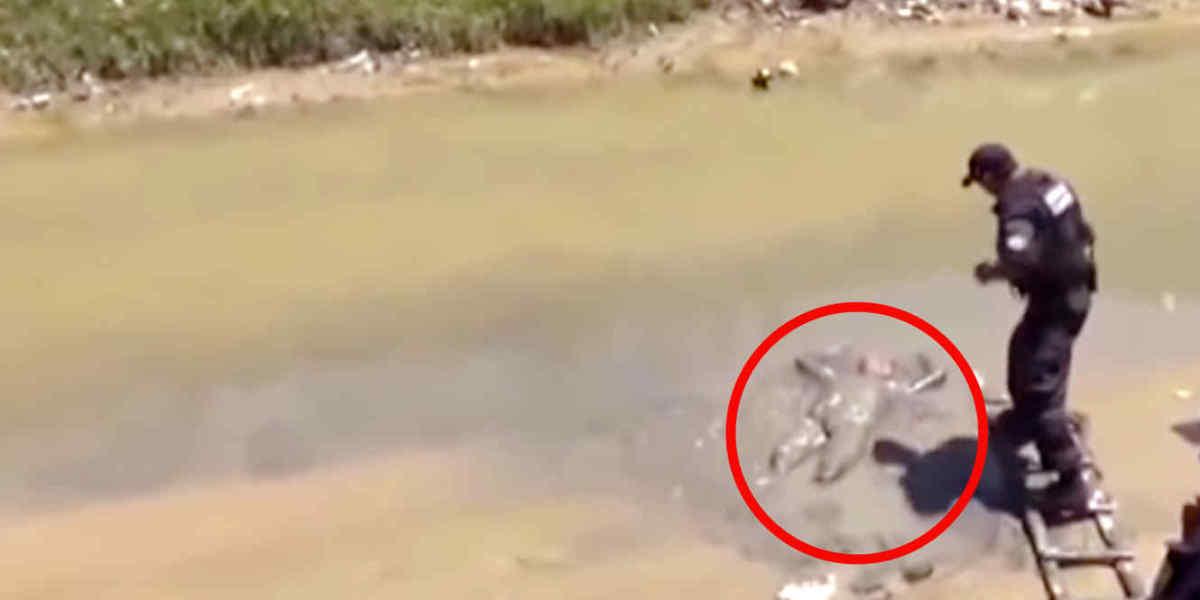 El hombre hallado en la orilla del río