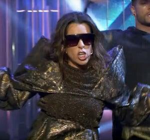 Ruth Lorenzo imitando a Lady Gaga