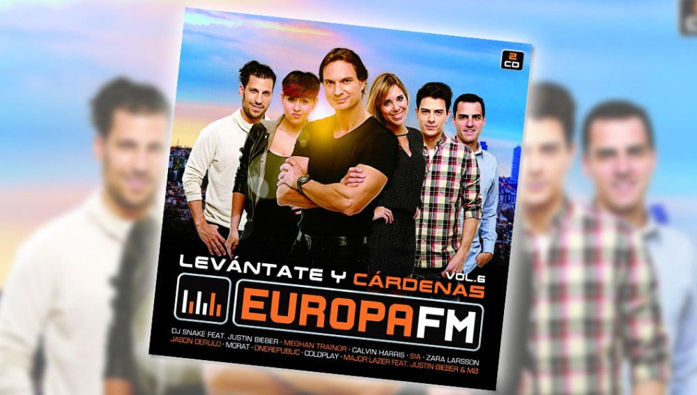 El disco de Levántate y Cárdenas Vol. 6