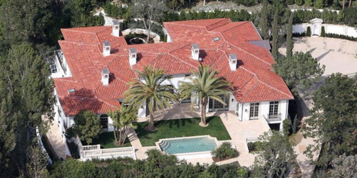 La mansión en Los Ángeles propiedad de los Beckham