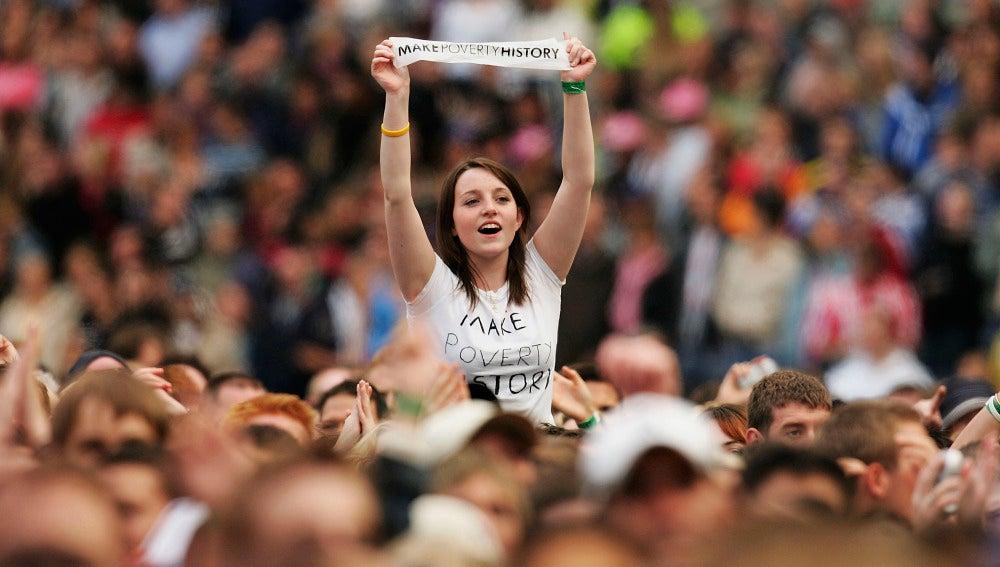 Público de un concierto