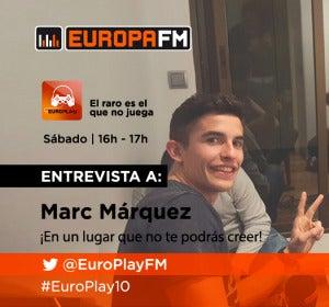 Marc Márquez en EuroPlay