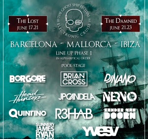 Cartel del festival The Ghost Ship
