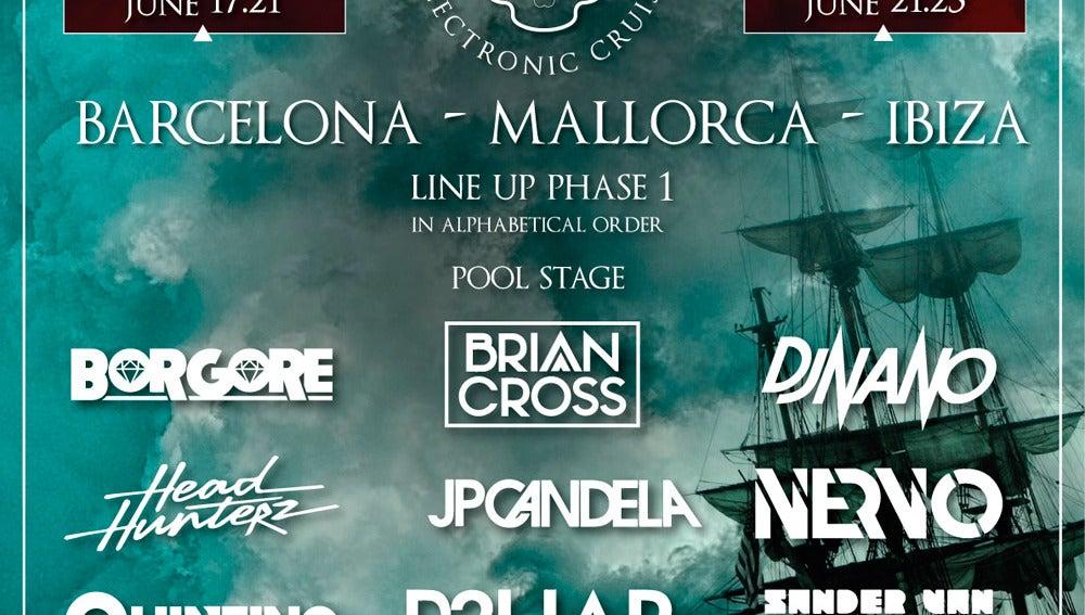 Cartel del festival The Ghost Ship