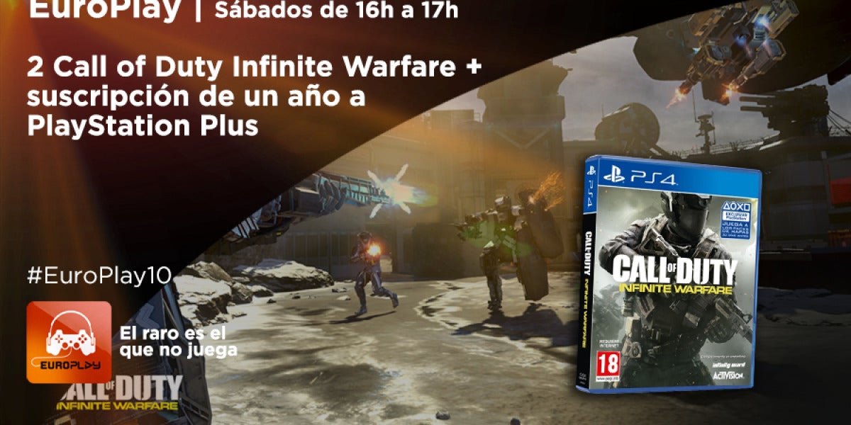 Concurso #EuroPlay10: consigue Call Of Duty Infinite Warfare