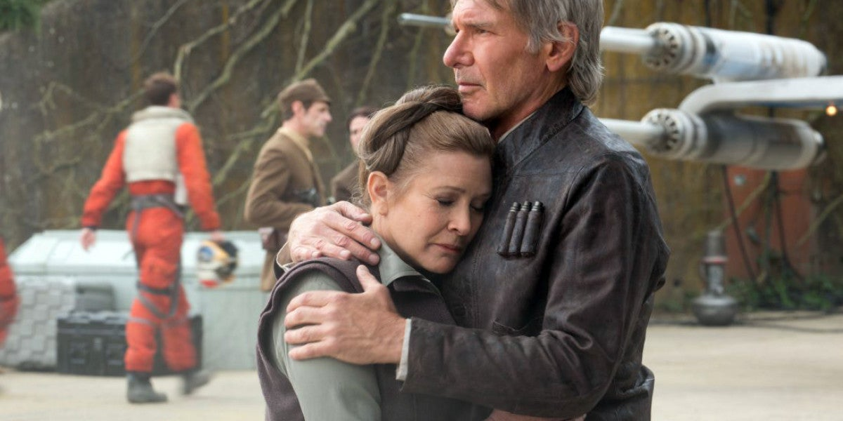 Carrie Fisher en 'Episodio VIII'