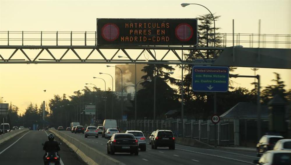 Restricciones de tráfico en Madrid