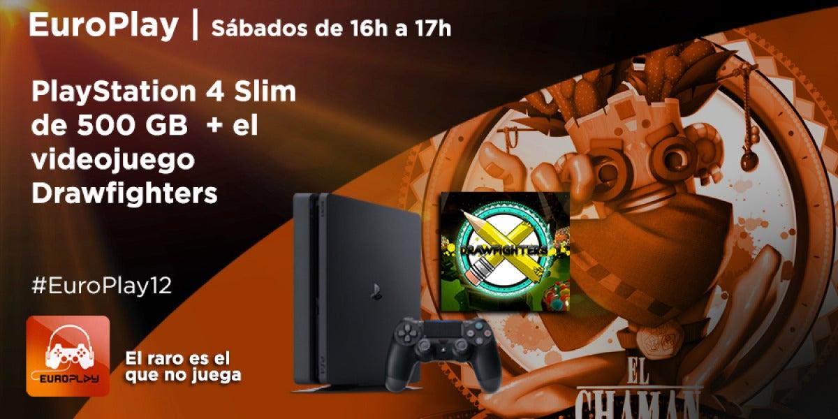 Concurso PlayStation 4 Slim + Drawfighters