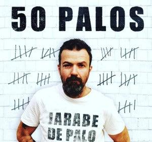 Jarabe de Palo presenta la portada de su próximo álbum, 50 PALOS
