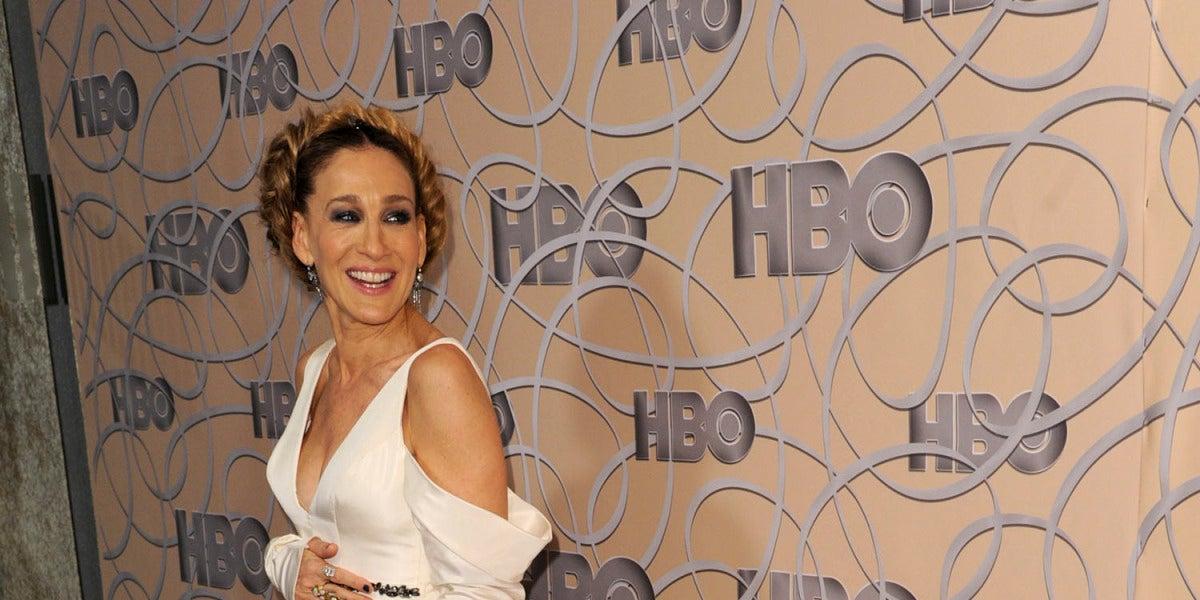 Sarah Jessica Parker en la fiesta de HBO