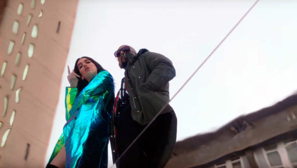 Dua Lipa y Sean Paul, en 'No Lie'