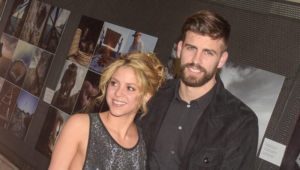 Shakira y Gerard Piqué posan juntos en la gala de unos premios deportivos