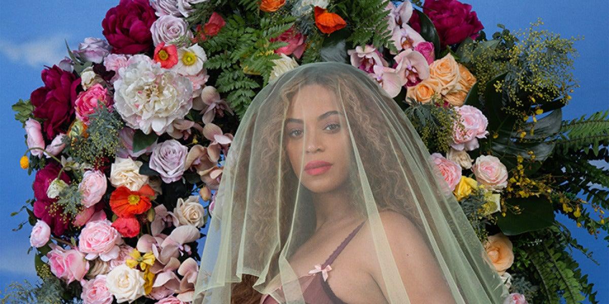 La foto con la que Beyoncé anunció su embarazo en Instagram