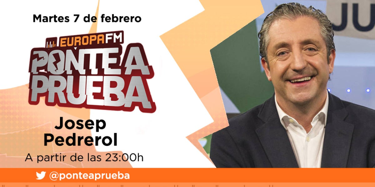 Josep Pedrerol visita Ponte a Prueba