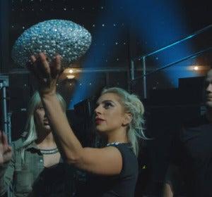 Lady Gaga ensayando para la Super Bowl 2017