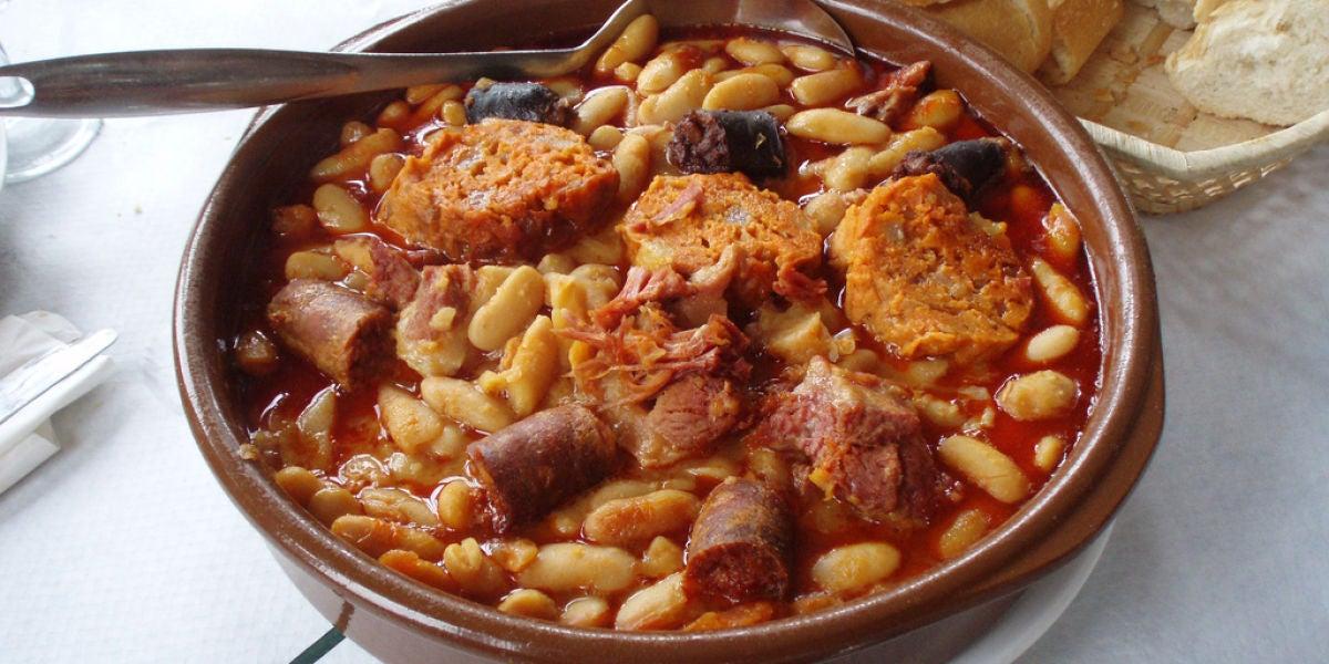 ¡Cómo nos gusta una fabada asturiana!