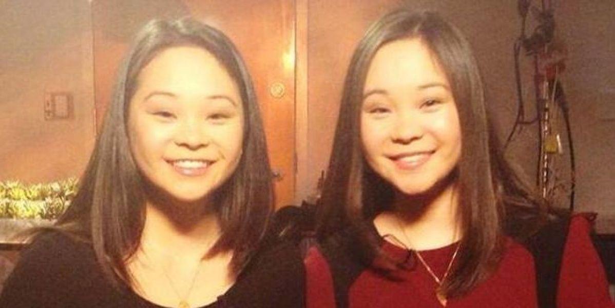 Las gemelas protagonistas de la historia