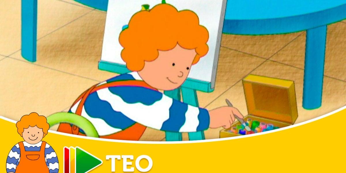 Teo - Teo aprende a pintar