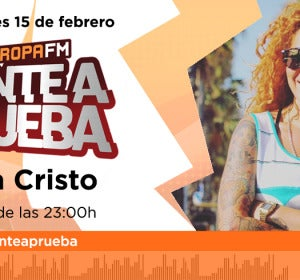 Sofía Cristo, próxima invitada en 'Ponte a Prueba'