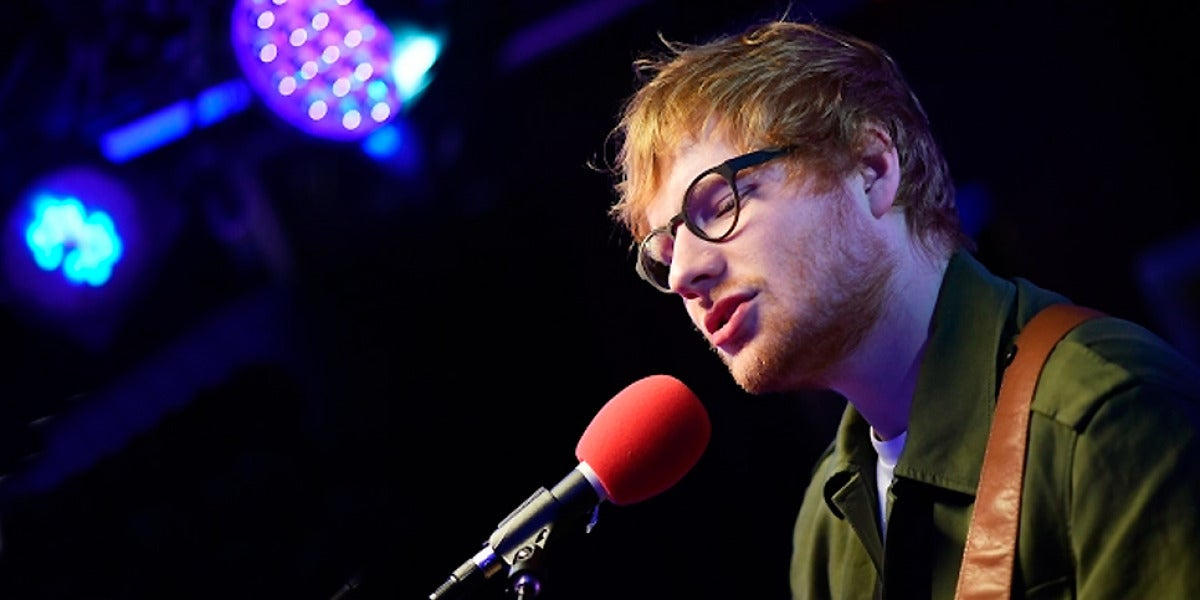 Ed Sheeran en BBC Radio 1